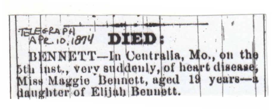 Callaway County Missouri Obituaries